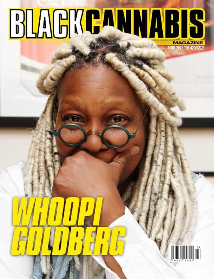 Black Cannabis Magazine Whoopi Goldberg